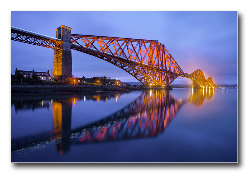 Alan Gray - First light_Forth Rail Bridge