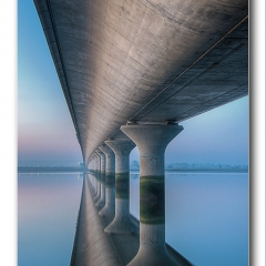 Alan Gray - Clackmannan bridge abstract