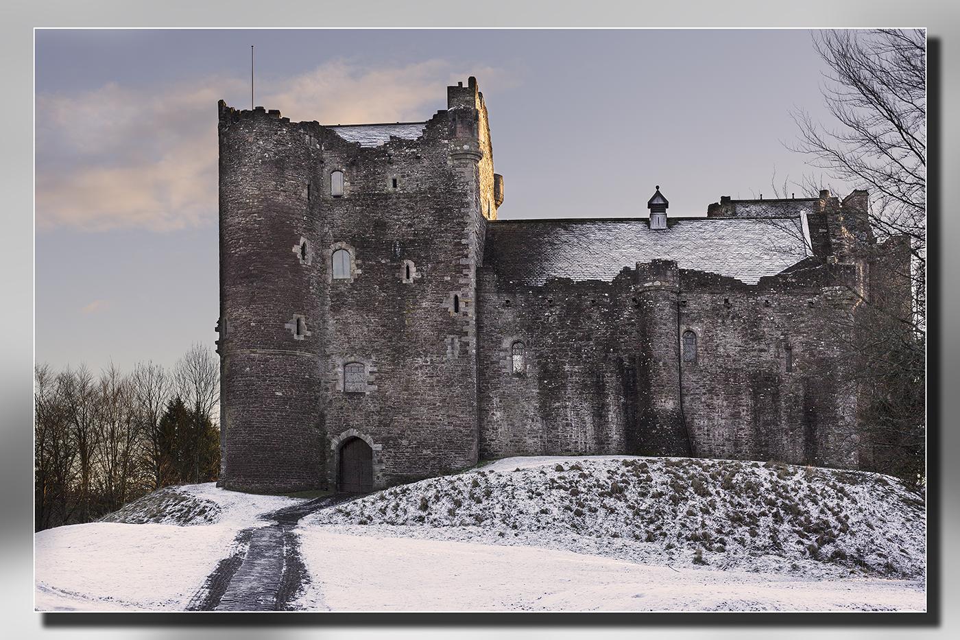 Bill McKenzie - Doune Castle in Snow