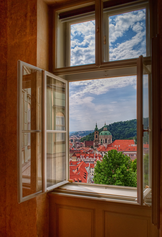 Palace Window View