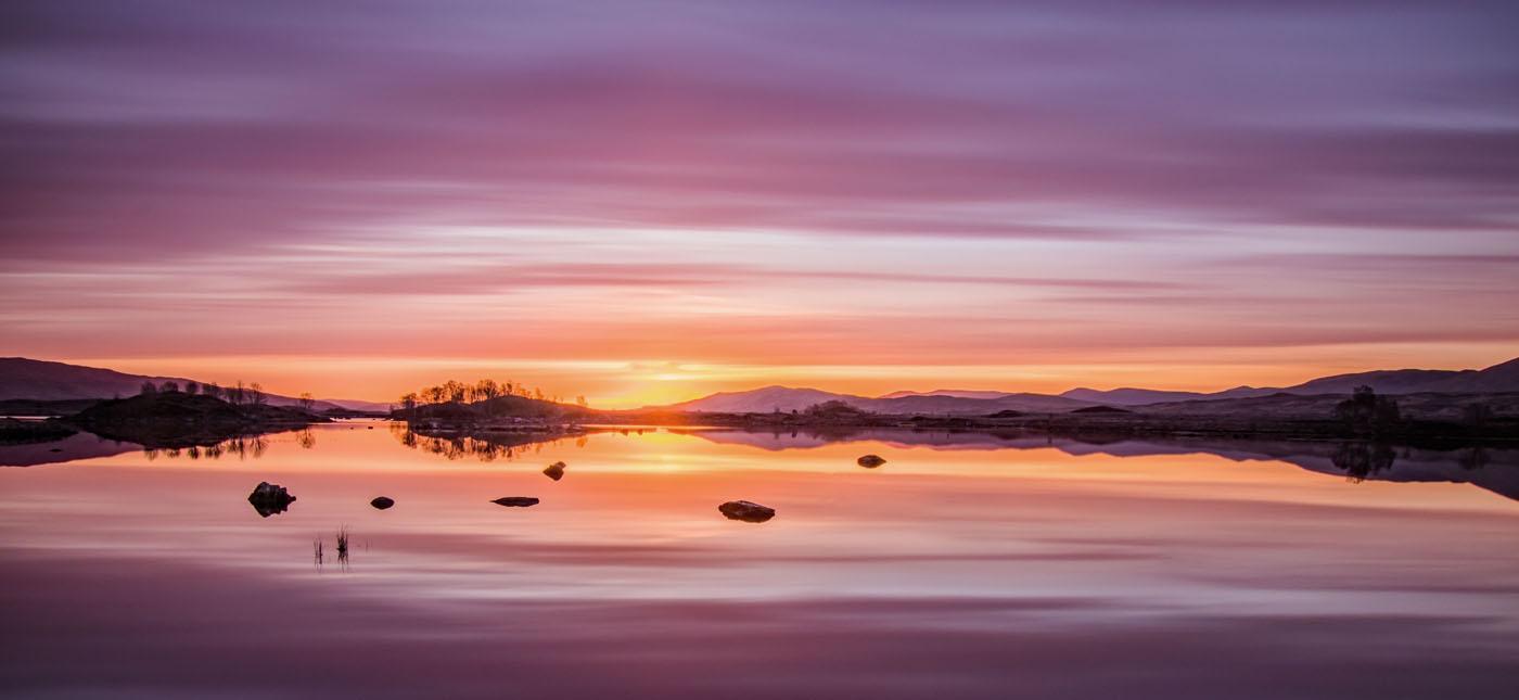 Lochan sunrise - John Ross