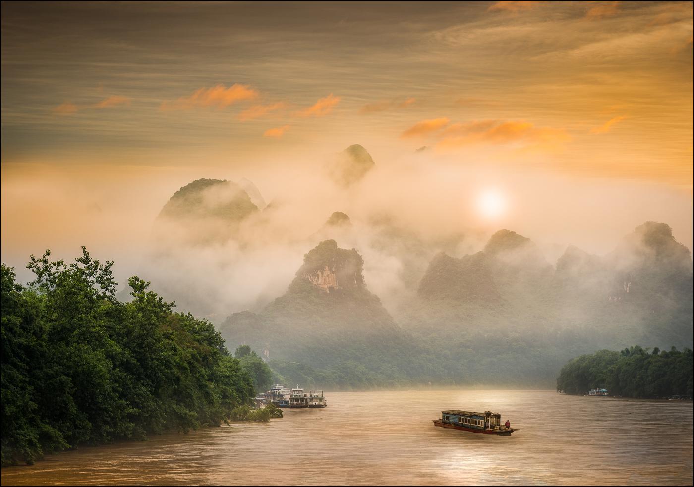 Li River Sunrise 113