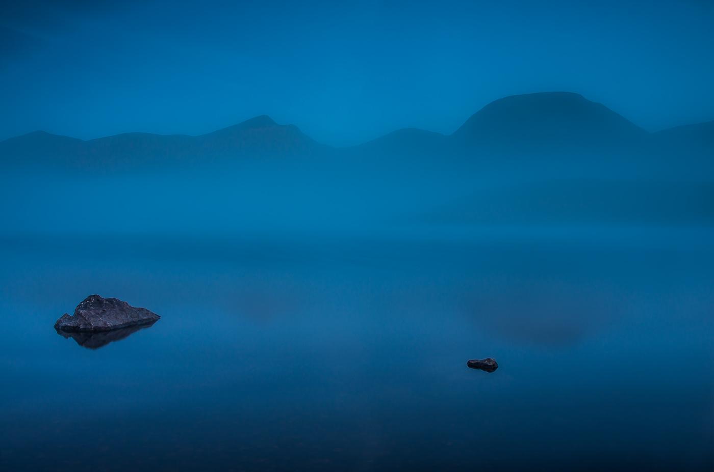 Misty Dawn at Loch Dockart nr Bridge of Orchy