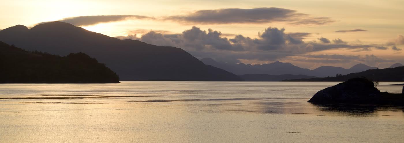 Sunset by loch alsh226