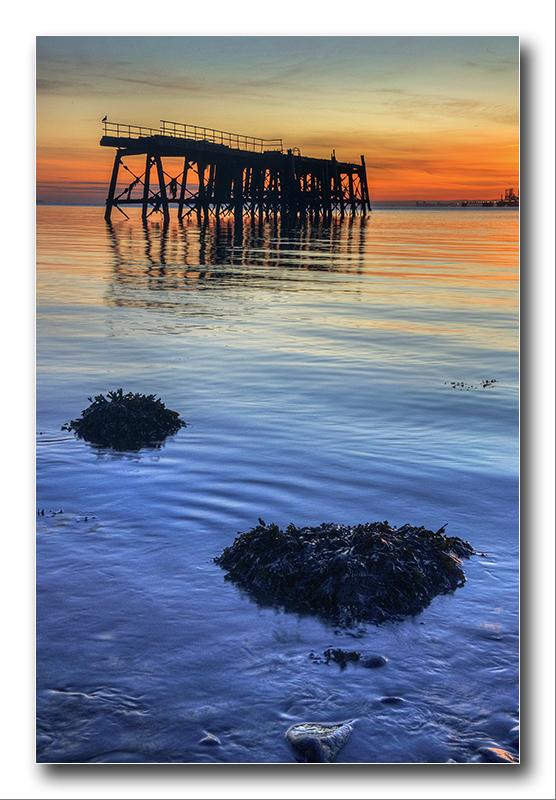 Alan Gray - Carlingnose point jetty