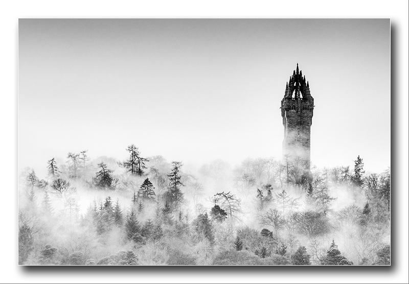 Alan Gray - misty monument