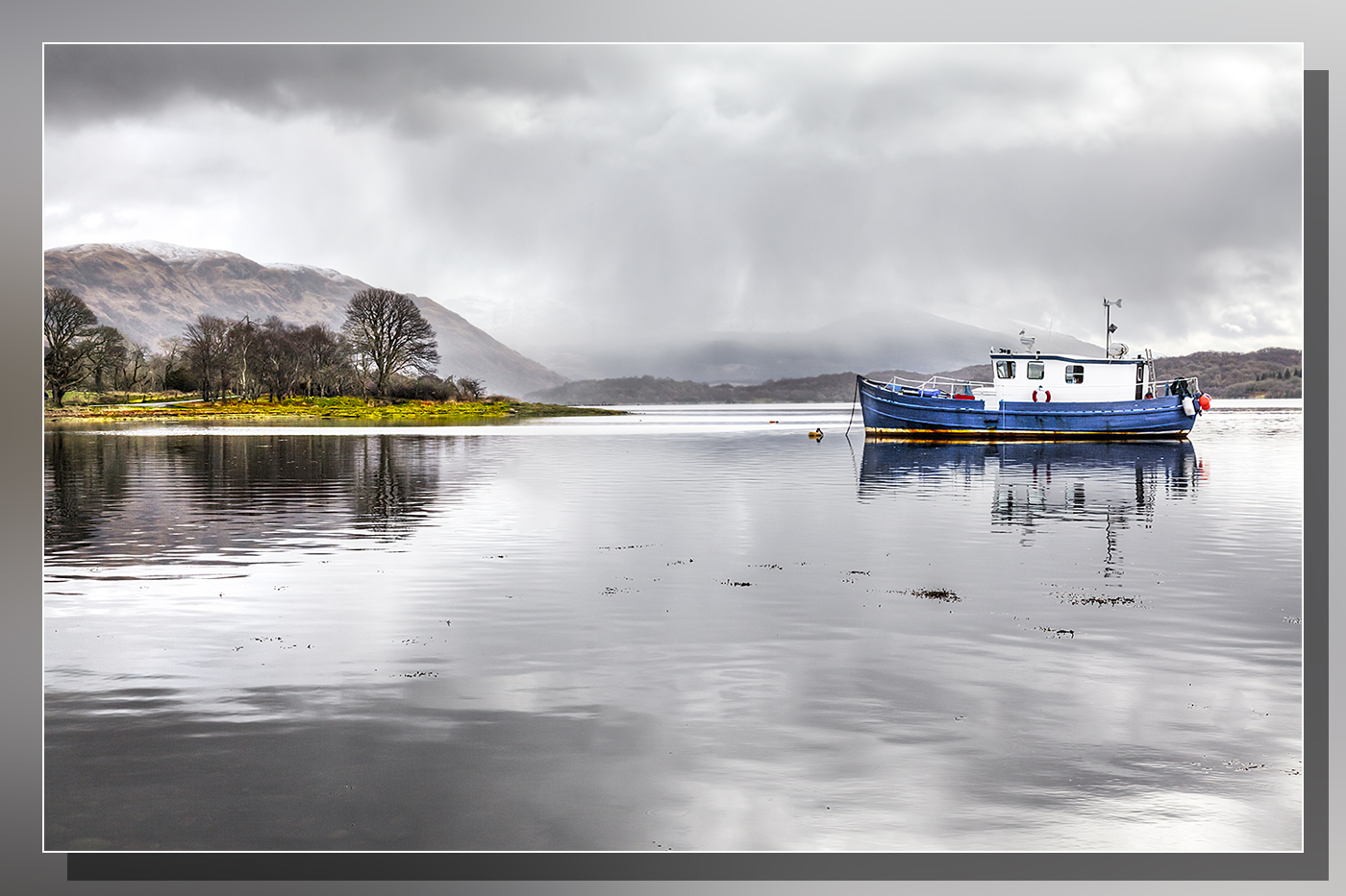 Bill McKenzie - Blue Boat Loch Etive